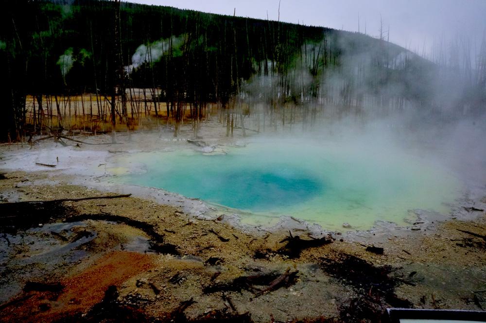 ここもまた、綺麗な温泉だった