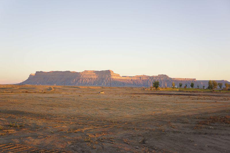 グリーンリバーの朝