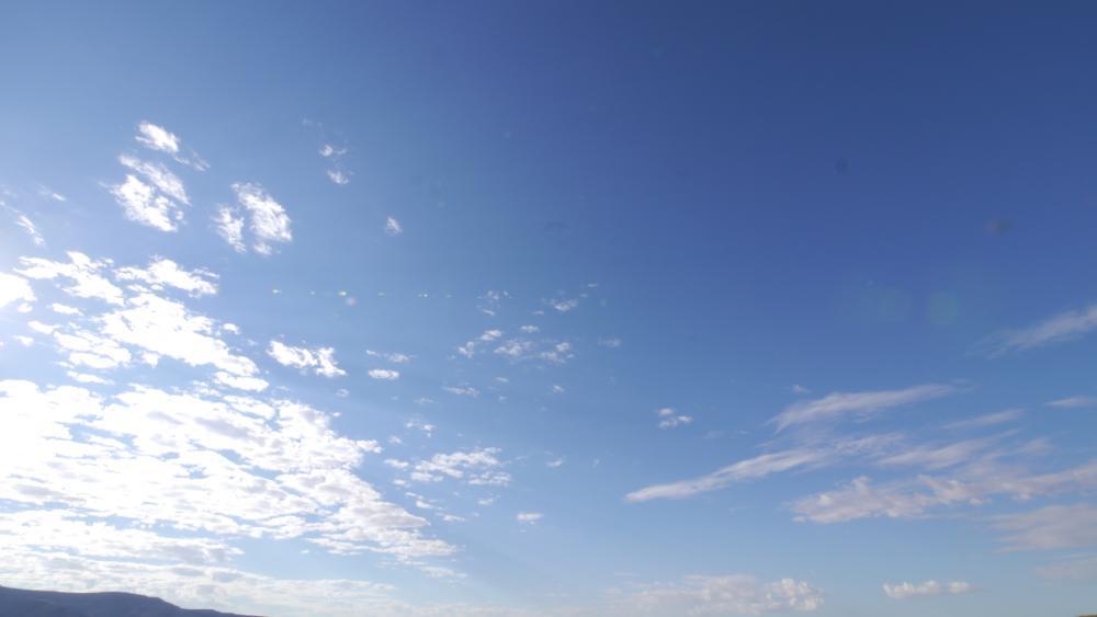 とにかく雲が綺麗